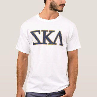 Ska (Fraternity greek letters) T-Shirt