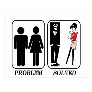 Ska Problem Solved Postcard