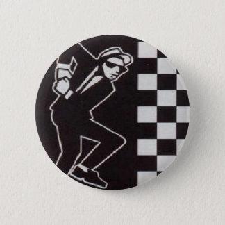 ska skanking guy 6 cm round badge