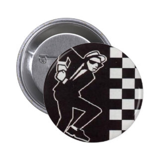 ska skanking guy 6 cm round badge