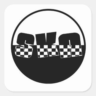 Ska Square Sticker