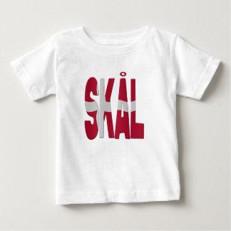 Skål cheers - Danish Baby T-Shirt