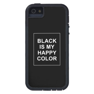SKAM - BLACK IS MY HAPPY COLOR iPhone 5 COVERS