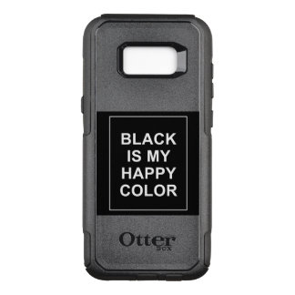 SKAM - BLACK IS MY HAPPY COLOR OtterBox COMMUTER SAMSUNG GALAXY S8+ CASE