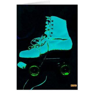 Skate Aqua Card