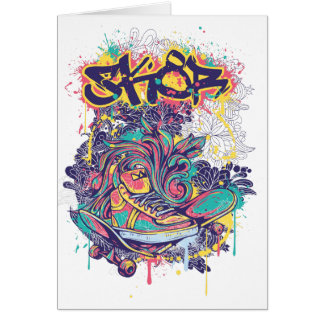 skate art card