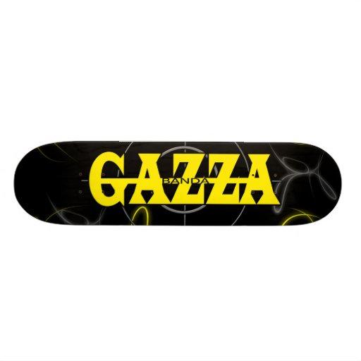 skate band gazza skateboard