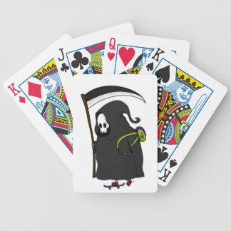 skate bicycle playing cards