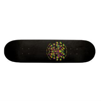 Skate-Black, fleur de lis Mardi-Gras 2011 V-2 19.7 Cm Skateboard Deck