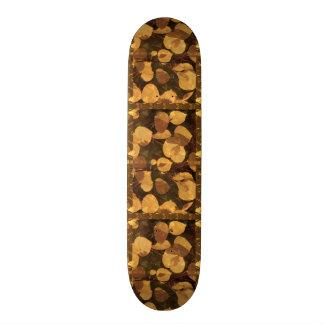 "Skate Borarding Deck Type: 7¾"" GOLDEN LEAF FALL Skate Board"