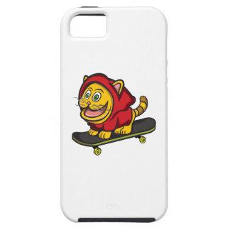 Skate Cat iPhone 5 Cover