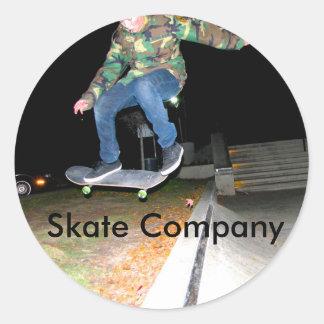 Skate Company stickers featuring Doran Terrell