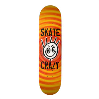 Skate Crazy, Stakeboards, Funny Skate Board Decks