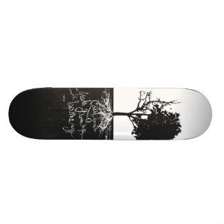 Skate Deck, Hip Hop, Black and White, Wu Tang Skate Board