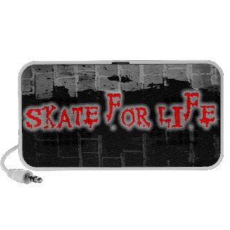 Skate For Life Doodle Portable Speaker