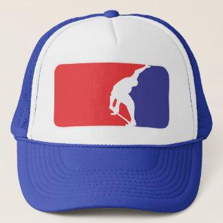 Skate League - Blue Trucker Hat