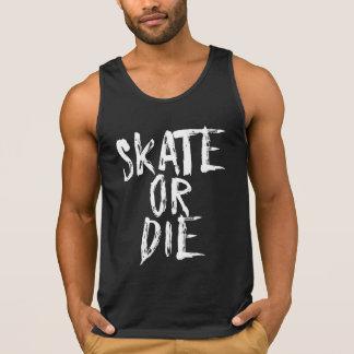 Skate or Die, Roller Derby design Singlet