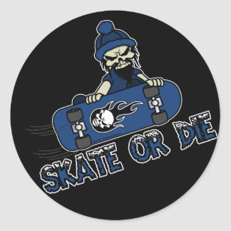 Skate or Die Sticker Sheets