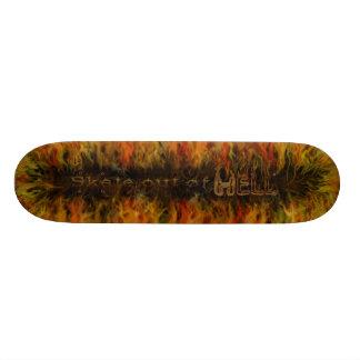 Skate Out Of Hell Skateboard Decks