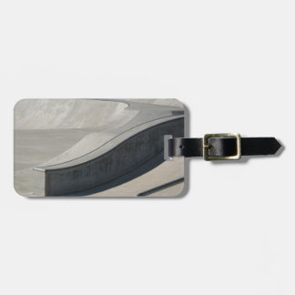 Skate Park Luggage Tag