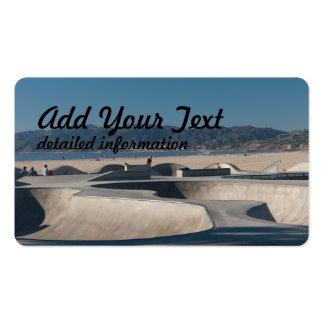 skate park pack of standard business cards