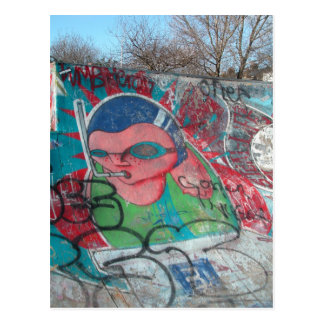 Skate Park Postcard