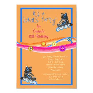 Skate Party Invitation