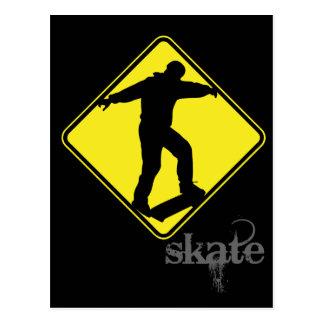 skate postcard