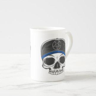Skate Rock Skull (blue bandana) Tea Cup