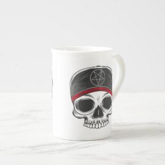 Skate Rock Skull (red bandana) Tea Cup