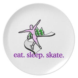 Skate Scene Plates