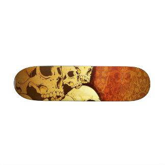 "Skate ""Skulls "" 18.1 Cm Old School Skateboard Deck"