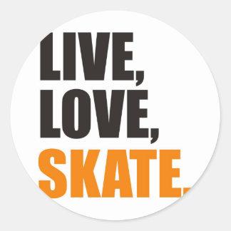 skate round stickers
