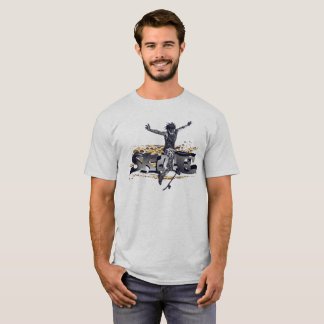 #Skate T-shirt for men in Weis