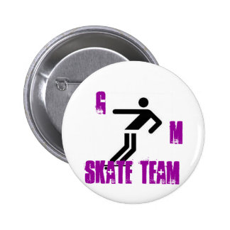 skateboard2 G m skate team Pin