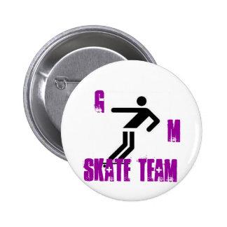 skateboard2, G, m, skate team Pin