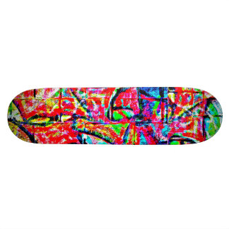 Skateboard-Abstract/Misc Art-Graffiti Gallery 2 21.6 Cm Old School Skateboard Deck