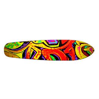 Skateboard-Abstract/Misc Art-Graffiti Gallery 3 21.3 Cm Mini Skateboard Deck
