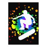 skateboard bubbles personalized announcement