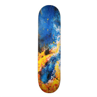 Skateboard Collection - Abstract Space Skateboard