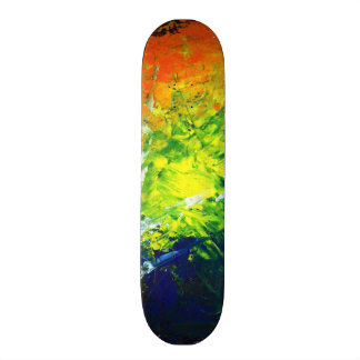Skateboard Collection - Bright Abstract Skateboard