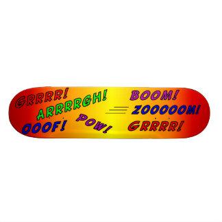 Skateboard comic