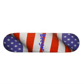 Skateboard (comp) - American Flag