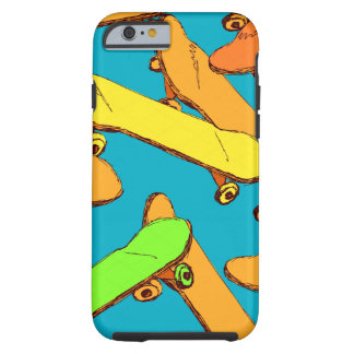 Skateboard Cool Pattern vectors Tough iPhone 6 Case
