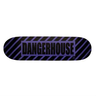 Skateboard Dangerhouse Logo DARK BLUE
