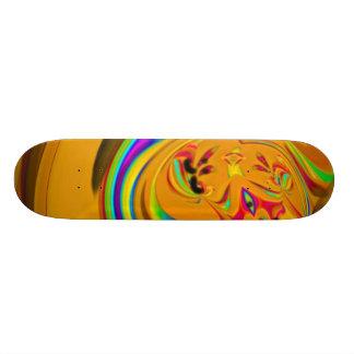 Skateboard Deck Design: Tag Team