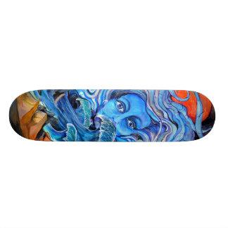 Skateboard design by Thompson Kellett