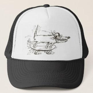 skateboard dog hat