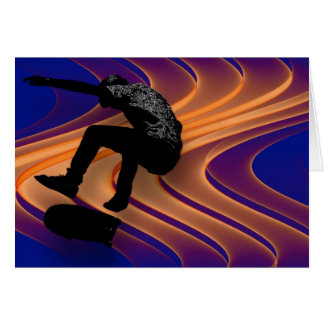 Skateboard Dream Greeting Card