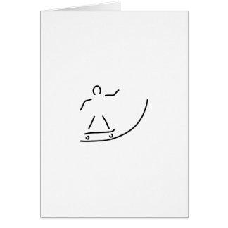 skateboard driver halfpipe card